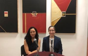 Dra. Beatriz Zepeda Rivera y Mtra. Liliana Padilla