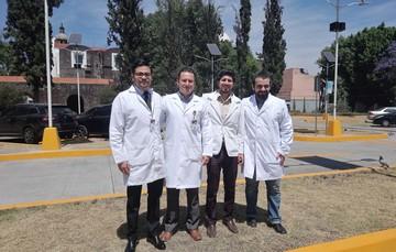 Doctores del Hospital Juárez del Centro.
