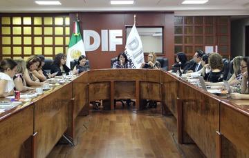 Reunión con DIF estatales