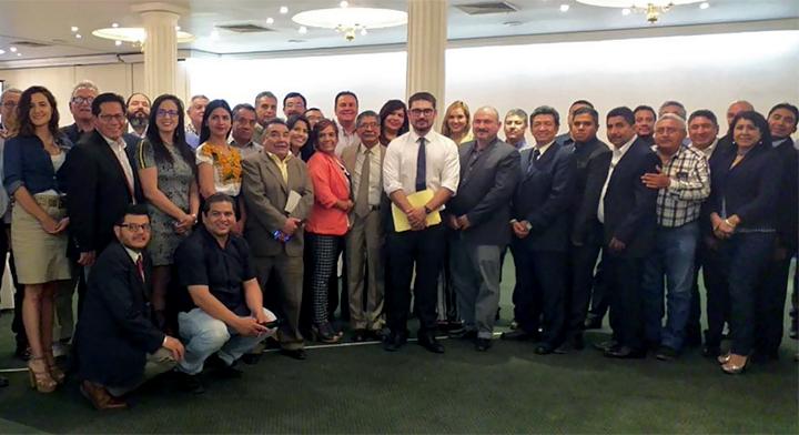 Reunión de trabajo con comisionados del Registro Agrario Nacional (RAN) de todo el Pais.
