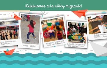 El INM celebra a las niñas y niños en su día