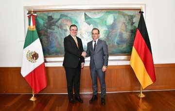 Visita del ministro federal de Relaciones Exteriores de Alemania