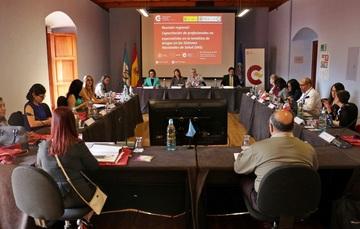 """""""Reunión regional: Capacitación de profesionales no especialistas en la temática de drogas en los sistemas nacionales de salud"""""""