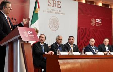 AMSDE meets with diplomatic corps in Mexico