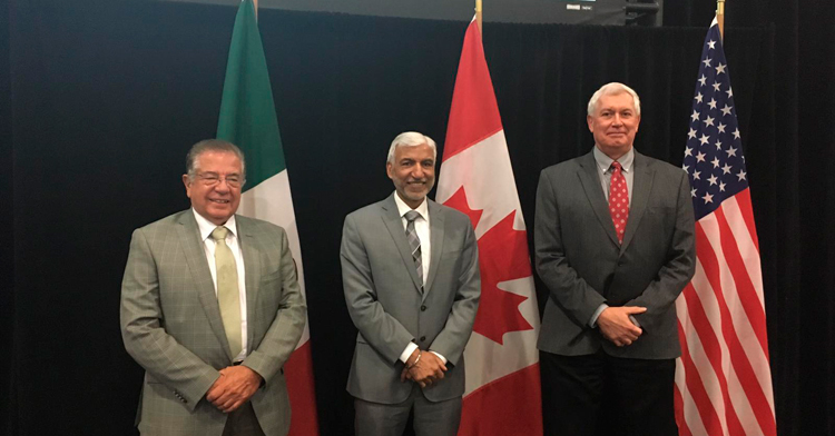 Los jefes de los Servicios Veterinarios de América del Norte desarrollaron un marco para el plan de atención a la enfermedad, con cuatro pilares y acciones fundamentales.