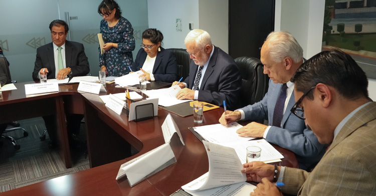 El acuerdo establece la creación de Grupos Específicos de Trabajo (GET), integrados por especialistas en el ámbito jurídico, de investigación, procedimientos y comercio exterior, entre otros.