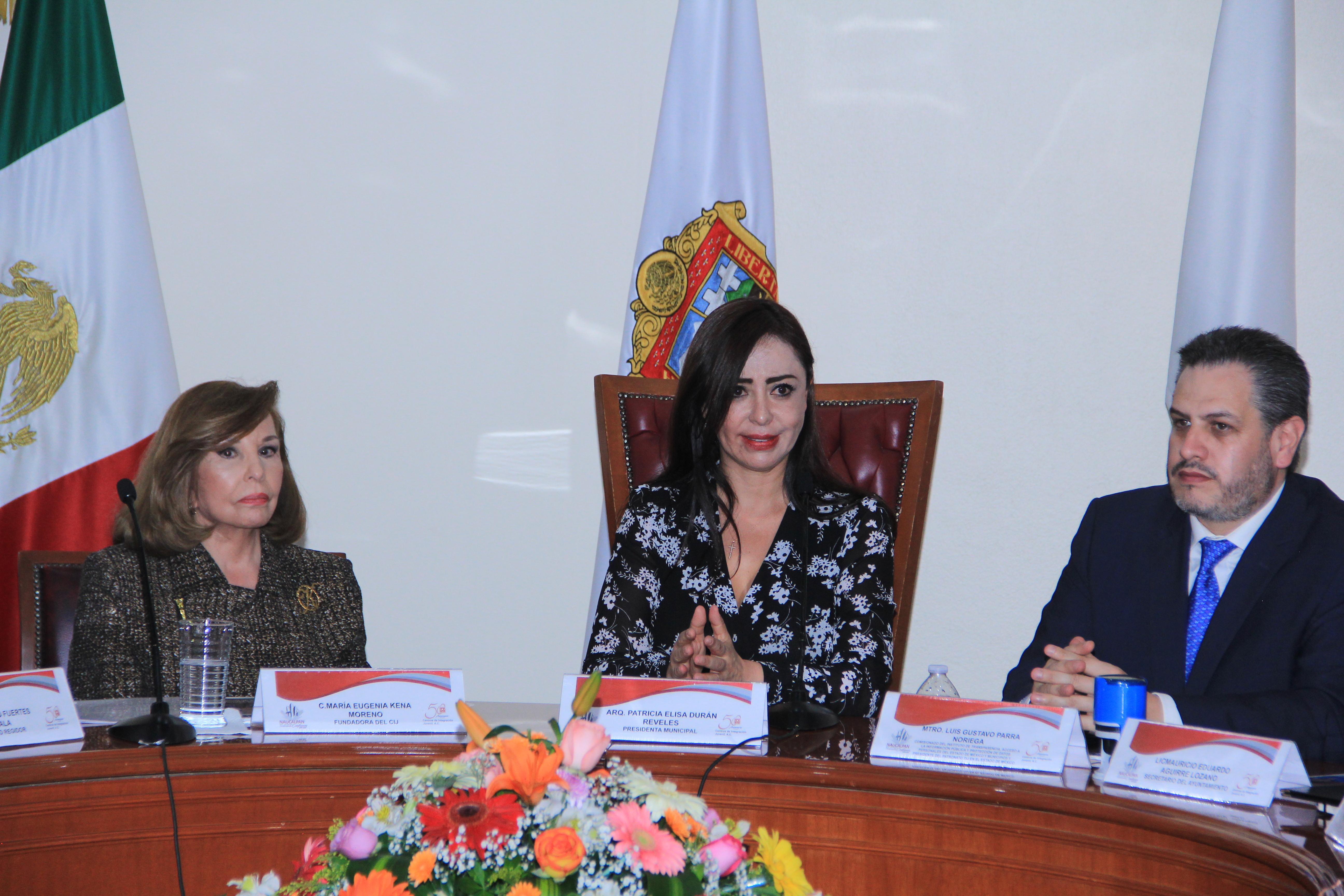 El Ayuntamiento de Naucalpan y CIJ firmaron un convenio de colaboración