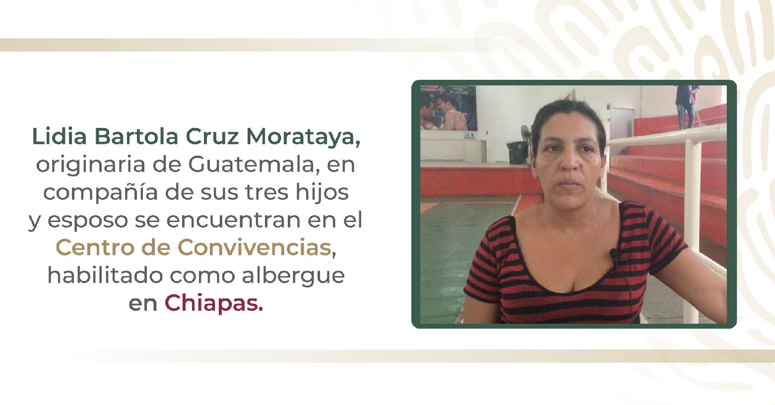 Lidia Bartola Cruz Morataya