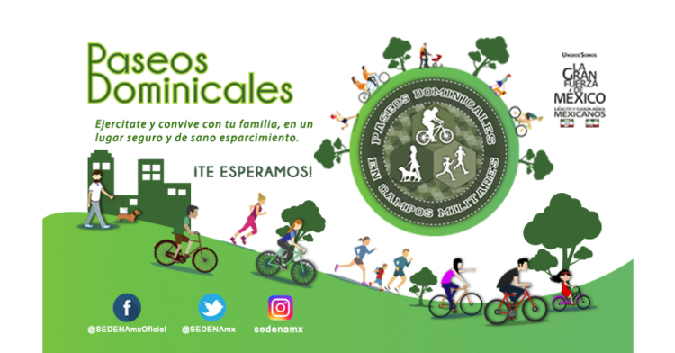 "Paseos dominicales mayo ""2019"""