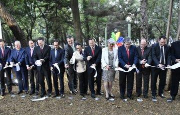 """Inauguración del """"Parque Alianza del Pacífico"""""""
