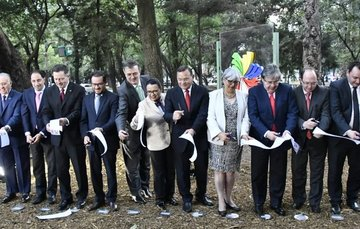 Inauguration of Pacific Alliance Park