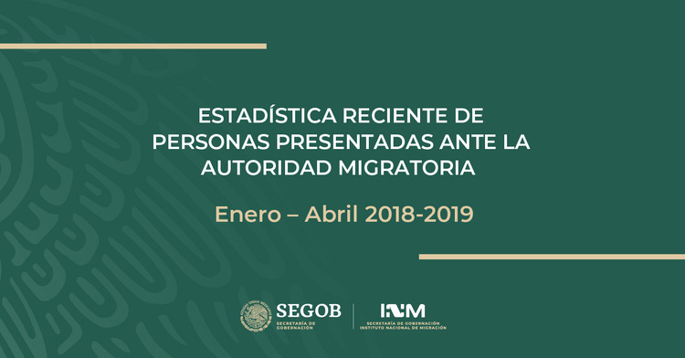 Enero - Abril 2018 -2019