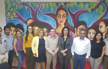 El director de Distribución de la Conaliteg se reunió con autoridades educativas del estado de Chiapas.
