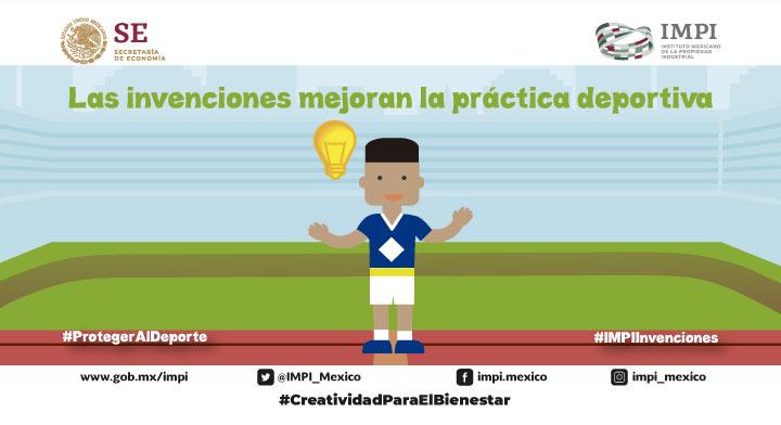 Las invenciones mejoran la práctica deportiva