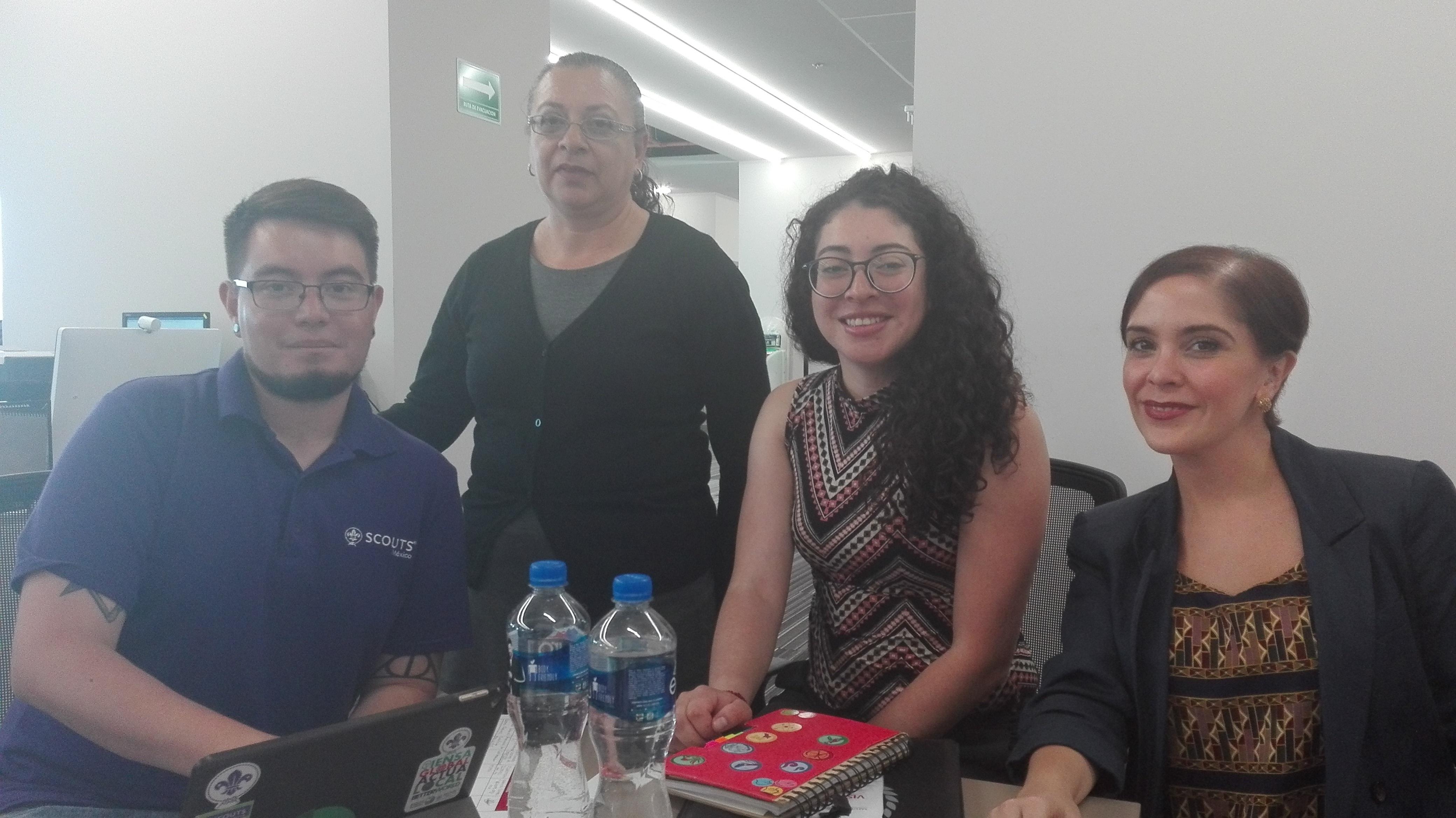 Reunión de Concertación con la Asociación de Scouts de México, A. C.
