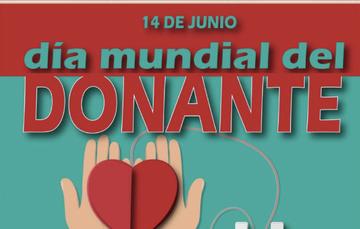 14 de Junio día mundial del donante