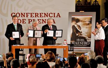 Boletín No. 74 Con el nuevo Acuerdo Educativo Nacional, los derechos del magisterio están protegidos: Moctezuma Barragán