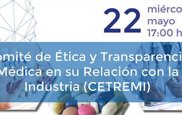 Imagen del Comité de Ética y Transparencia Médica en su Relación con la Industria (CETREMI).