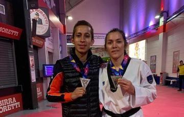 María Espinoza se despide de las justas mundialistas con la presea de plata en los -73 kilogramos.