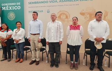 Mensaje del presidente de México, Andrés Manuel López Obrador, desde Chiapas
