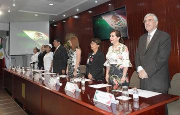 El doctor Onofre Muñoz Hernández en la inauguración del evento.