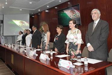 El doctor Onofre Muñoz Hernández en la ceremonia de inauguración del evento.