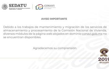 Mantenimiento y migración de los servicios de almacenamiento y procesamiento de la CONAVI.