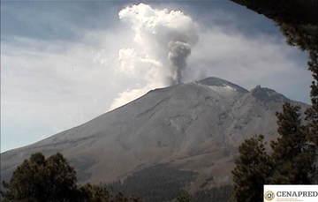 Las cenizas volcánicas son partículas de roca y cristales menores de 2 mm, como el grosor de la punta de un lápiz