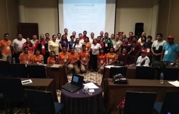 Participantes de los cursos y talleres impartidos por personal del CENAPRED