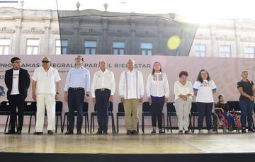 Mensaje del presidente de México, Andrés Manuel López Obrador, desde San Luis Potosí
