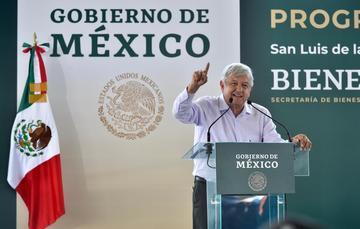 Mensaje del presidente de México, Andrés Manuel López Obrador, desde San Luis de la Paz, Guanajuato