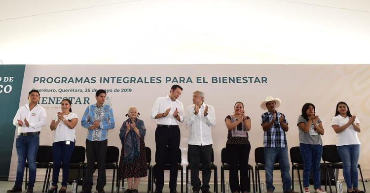 Mensaje del presidente de México, Andrés Manuel López Obrador, desde Querétaro