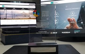ALIDE, en el marco de su cuadragésima novena Asamblea General, otorgó a Banobras el reconocimiento en la categoría Información, Asistencia Técnica y Responsabilidad Social a Proyectos México.