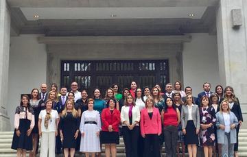 Primera Reunión Nacional de Titulares DIF.