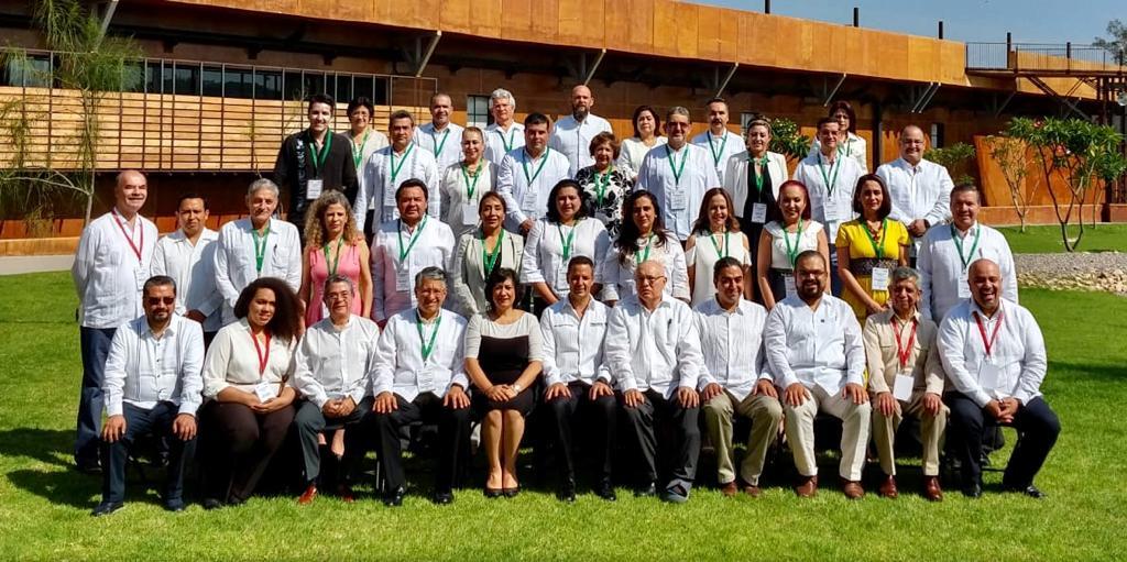 Secretaria Sandoval Ballesteros presenta nueva arquitectura de fiscalización ante contralores del país