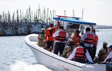 El trabajo coordinado entre Sader y Semar ha contribuido al cumplimiento de la normatividad en materia pesquera.