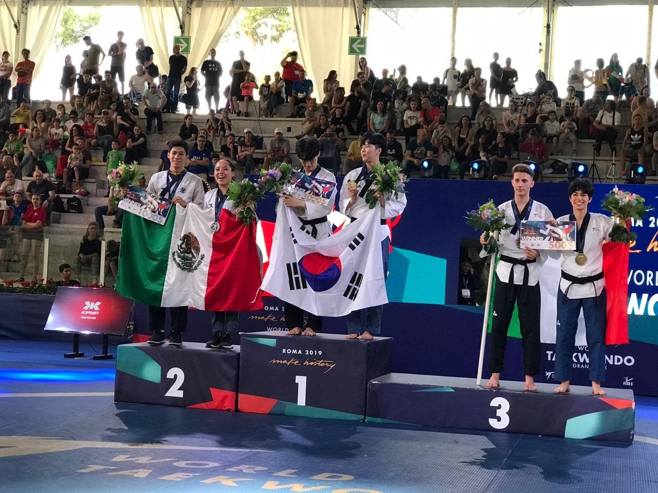 Con esta presea, México sumó una plata y un bronce en el certamen que se realizó en Roma, Italia.