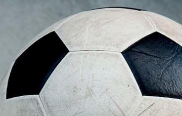 Foto de balón de fútbol.