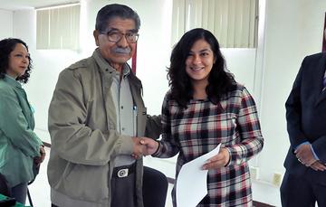 Destacada Director en Jefe del Registro Agrario Nacional (RAN), Plutarco García Jiménez, entregó Titularidad de Plaza de Base a 25 trabajadores.