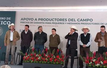 Apoyo a productores del campo