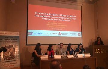 Presentación del Estudio Estimación del Consumo de Cigarros Ilícitos en México