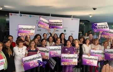 Celebración de la aprobación de las reformas constitucionales en materia de paridad de género