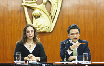 En conferencia de prensa en las oficinas del Instituto, se indicó la creación de empleos de enero a mayo de 2019.