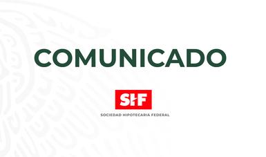 Comunicado de Prensa SHF