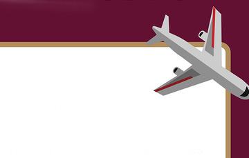 Viñeta de avión.