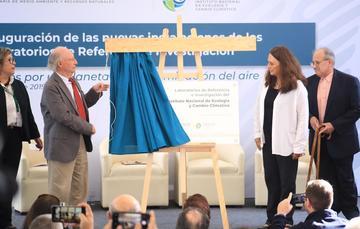 Inauguración de Laborartorios de Referencia del INECC