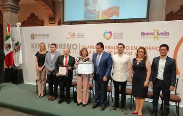 Reconocen la labor de CIJ en el Estado de Nuevo León
