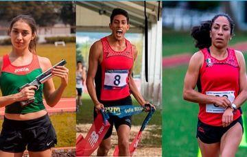 Manuel Padilla, Mayan Oliver y Mariana Arceo competirán con apoyo de la CONADE del 27 al 30 de junio.