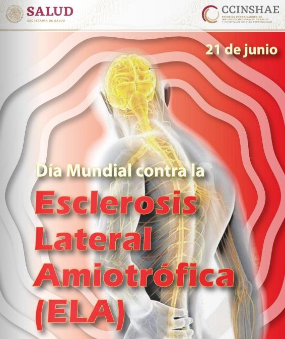 Día  Mundial contra la Esclerosis Lateral Amiotrofica (ELA)
