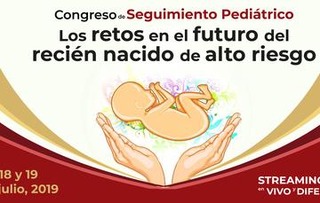 Ilustración de feto y dos manos